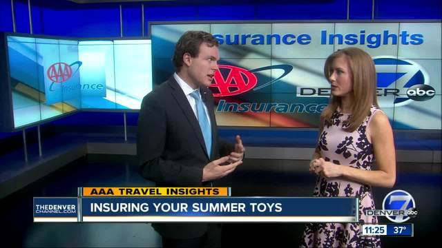 Insuring Your Summer Toys
