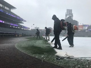 Colorado Rockies' home opener now coldest ever