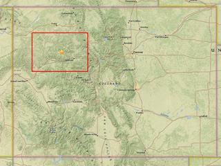 Magnitude 2.7 quake recorded in Colo. mountains