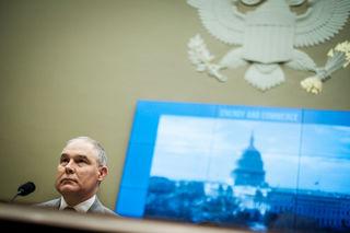 Democratic senators prod Pruitt over emissions