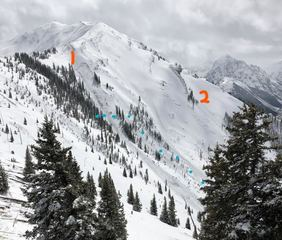 Report: Skier killed in slide altered route