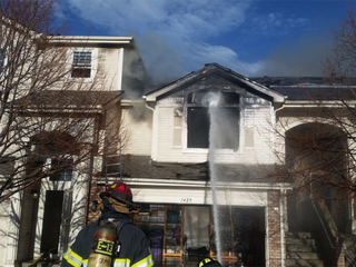 Townhomes lost in southeast Denver fire