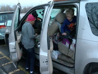 Homeless Colorado family lives inside vehicle