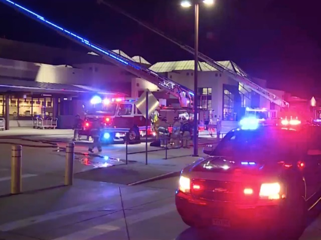 Fire on terminal roof closes Colorado Springs Airport Tuesday