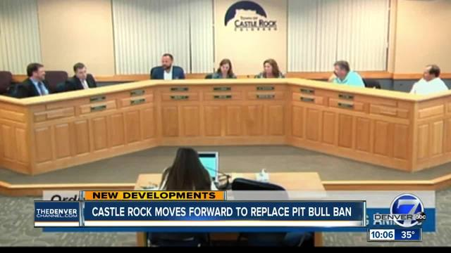 Repeal of pit bull ban in Castle Rock clears first hurdle in Town Council vote