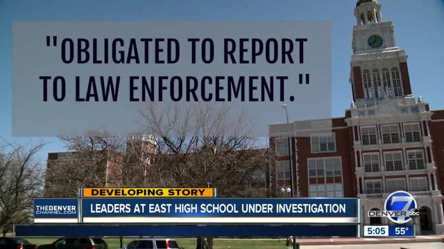 East High School administrators- ex-principal charged with failing to…