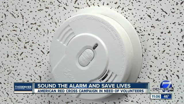 Volunteers needed for Sound the Alarm smoke detector campaign