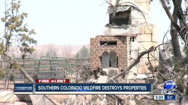 El Paso County fire burns more than 40K acres- several other large fires…