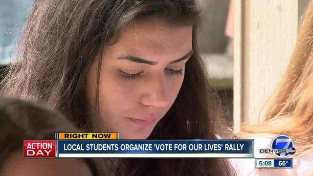 Colorado -Vote for Our Lives- rally to include survivors of Parkland-…