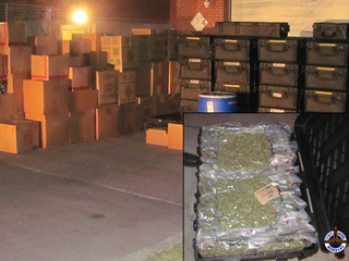 PD: Man's erratic driving leads to $5M pot bust