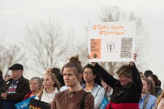 No walkouts at closed Columbine on anniversary