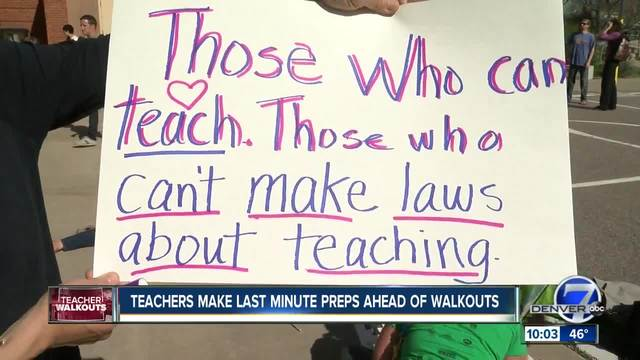 Colorado teacher rallies- Everything you need to know with walkouts…