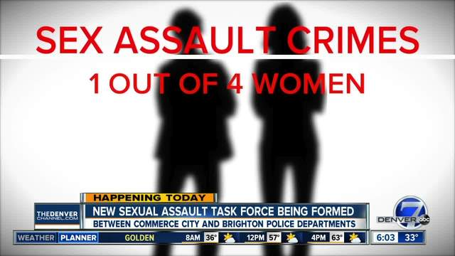New sexual assault task force coming to Colorado