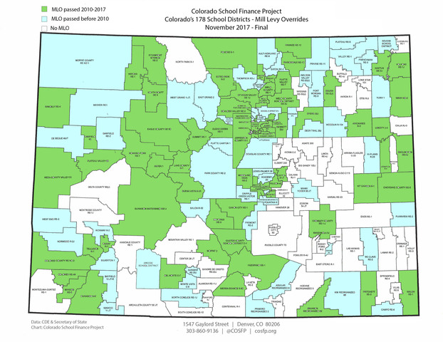 Local Control Over School Funding In Colorado Leads To Inequities