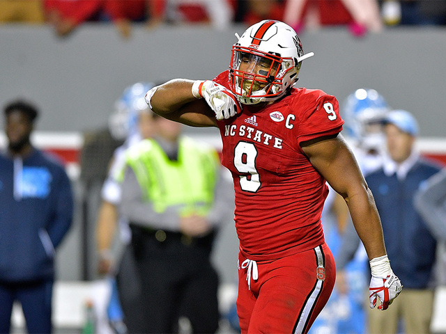 Broncos land DE Bradley Chubb with 5th pick