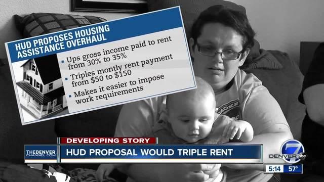 HUD proposal would triple rent
