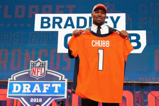 Broncos sign first-rounder Chubb to 4-year deal