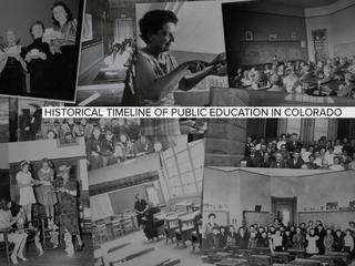 GALLERY: Old-school pics of Colorado schools