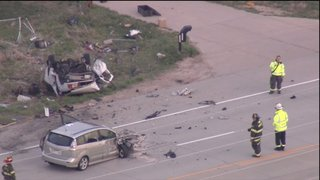Victims ID'd in double fatal Highway 287 crash