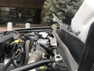 City of Aurora has 'car hood theft' trend