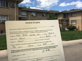 Tenants told to vacate after apt. building sold