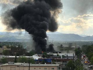 Fire at Denver tortilla factory injures 1