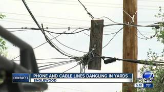 Homeowners not happy with power pole repair job