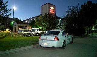 Masked gunmen rob motel guests near airport