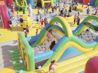 World's biggest bounce house in CO this weekend