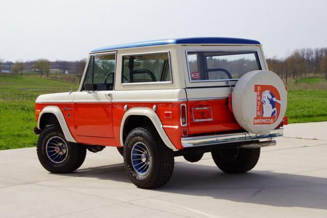 PHOTOS: This Denver Broncos-themed 1975 Ford Bronco is up for auction - Denver7 TheDenverChannel.com