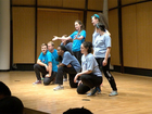 Teaching water conservation through performance