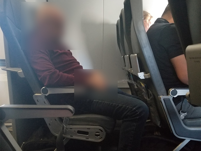 Passenger: Man urinated aboard Frontier flight