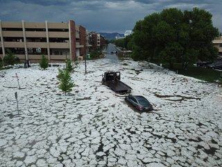 Some Ft. Collins streets flooded after storm