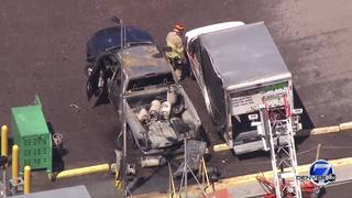 1 burned in Westminster propane tank explosion