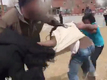 School staff suspended after fight goes public