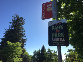 Shuttles being used to alleviate park congestion