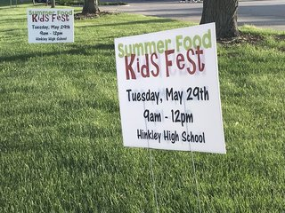 Kids Fest summer food program starts Tuesday
