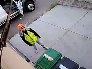 Thieves caught on camera stealing from garage