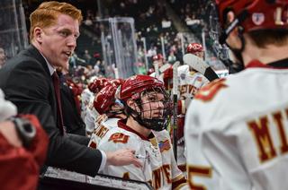 Meet the Pioneers' new hockey coach, David Carle