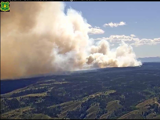 Badger Creek Fire doubles in size