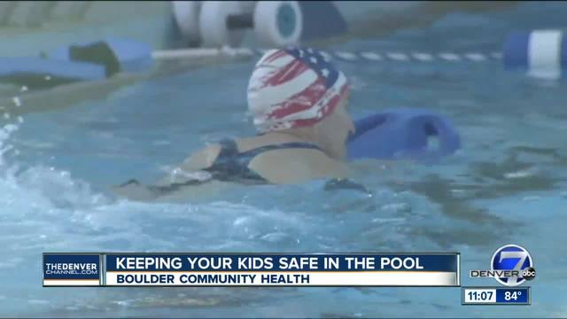 Keeping your kids safe in the pool