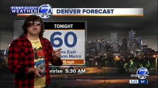 Watch: Ryan Adams moonlights as weatherman