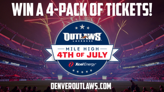 Contest: Denver Outlaws Tickets with Denver7!