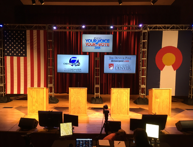 Live blog: Republican gubernatorial debate