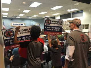 Protesters shut down council meeting