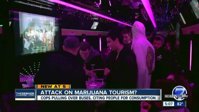 Attack on marijuana tourism-