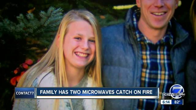 Castle Pines mom warning others about danger of GE built-in microwave