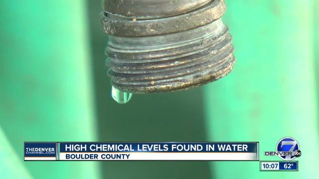 Boulder County community warned drinking water could be contaminated