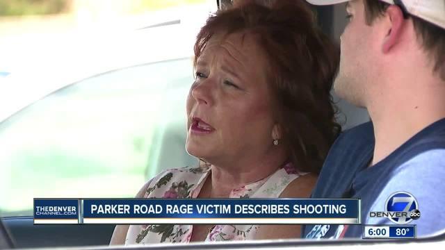 Parker road rage victim describes shooting