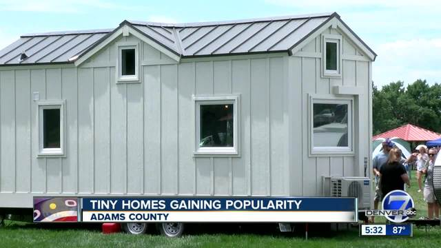 Tiny homes are attracting people young and old from all walks of life